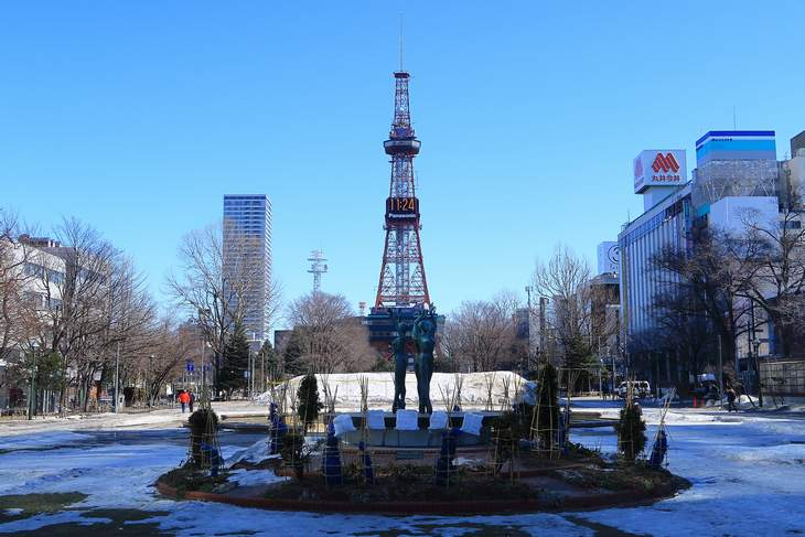 2019年3月の札幌・大通公園の天気と周辺の様子・出来事