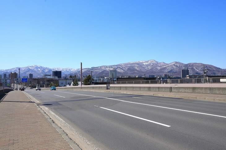 札幌の山々