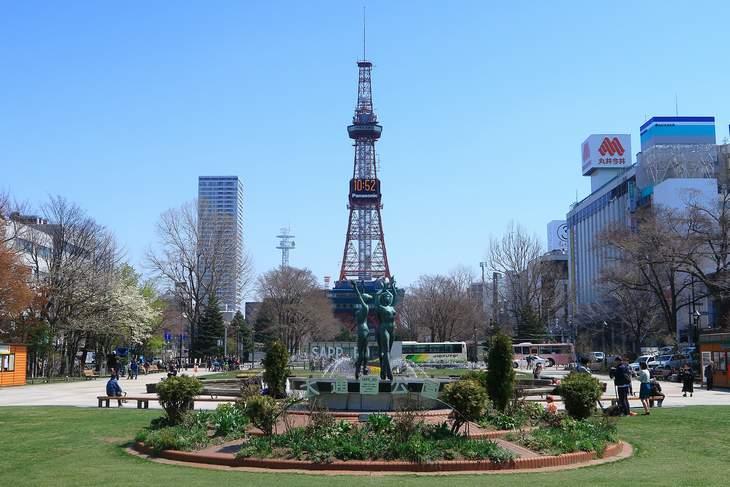 2019年4月の札幌・大通公園の天気と周辺の様子・出来事