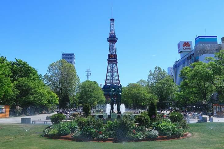 2019年5月の札幌 大通公園