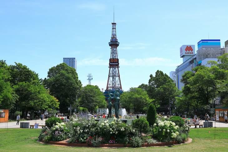 2019年7月の札幌・大通公園