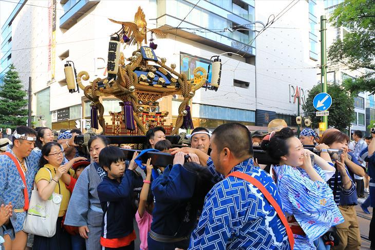 四番街「北海道祭」