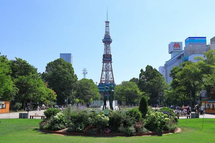 2019年8月の札幌・大通公園の天気と周辺の様子・出来事