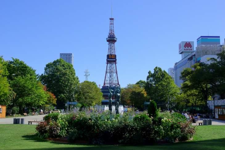 2019年9月の札幌・大通公園の天気と周辺の様子・出来事