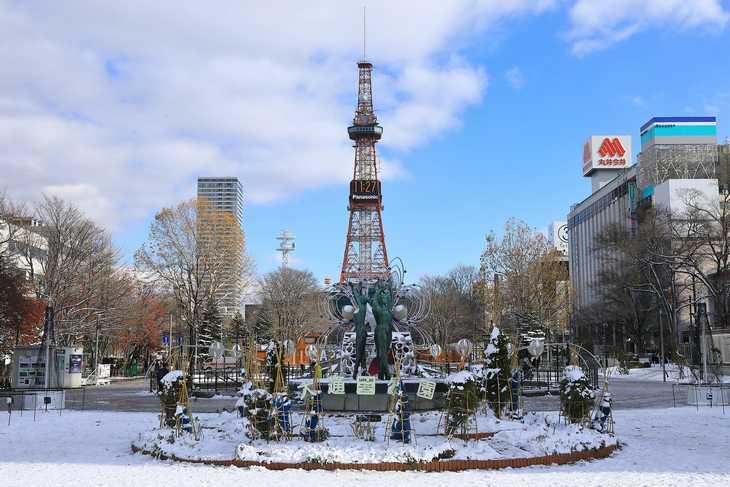 2019年11月の札幌・大通公園の天気と周辺の様子・出来事