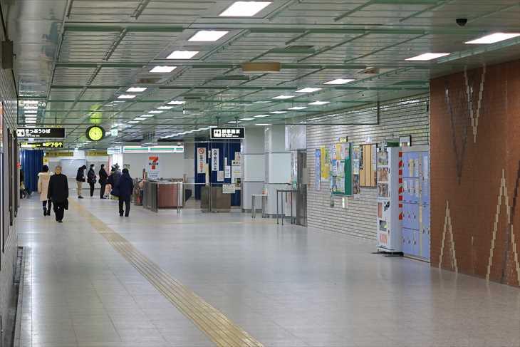 地下鉄 新さっぽろ駅