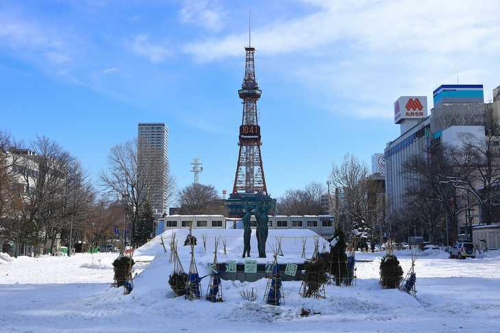 2020年2月の札幌・大通公園の天気と周辺の様子・出来事