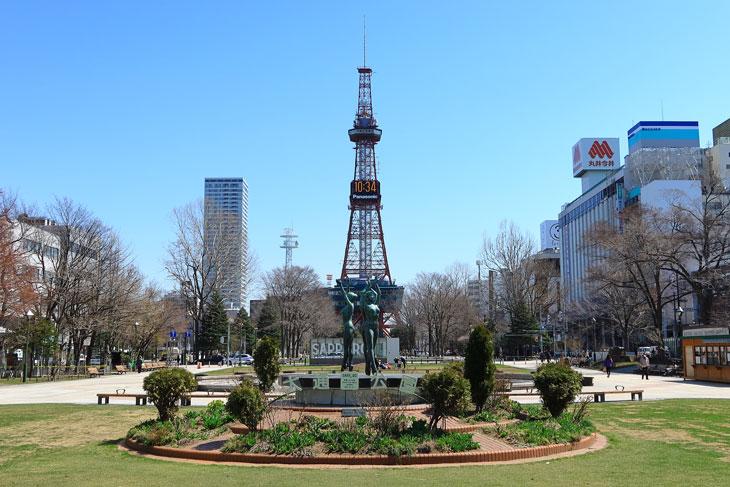 2020年4月の札幌・大通公園の天気と周辺の様子・出来事