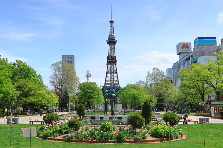 2020年5月の札幌・大通公園の天気と周辺の様子・出来事