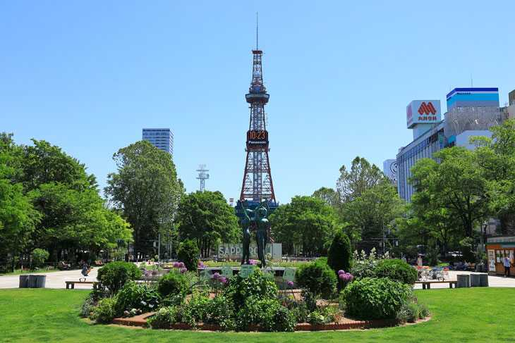2020年6月の札幌・大通公園の天気と周辺の様子・出来事