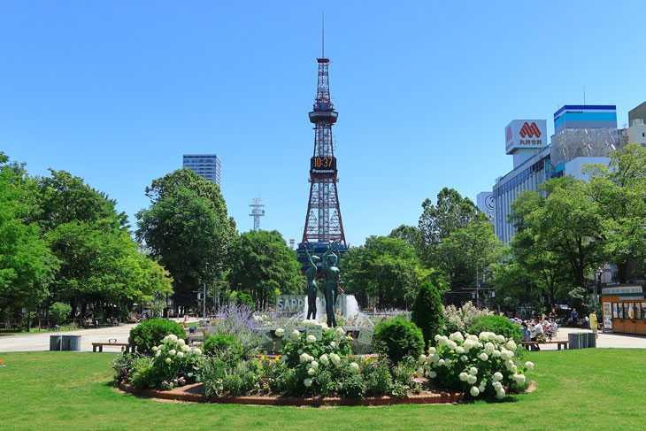 2020年7月の札幌・大通公園の天気と周辺の様子・出来事