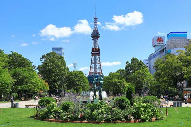 2020年8月の札幌・大通公園の天気と周辺の様子・出来事