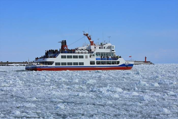 流氷砕氷船おーろら