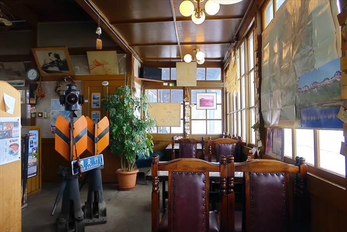 藻琴駅の食事&喫茶 トロッコ