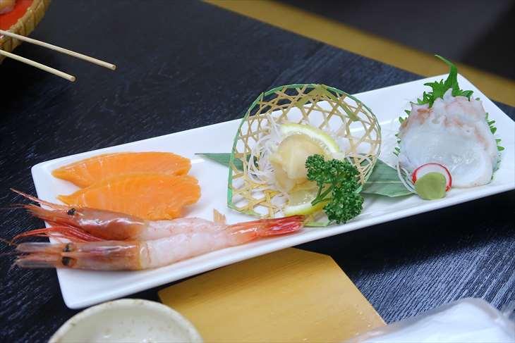 ホテル季風クラブ知床 の夕食