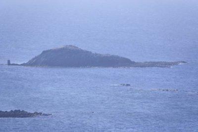 宗谷岬からみた弁天島
