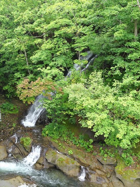 三段の滝(恵庭市)