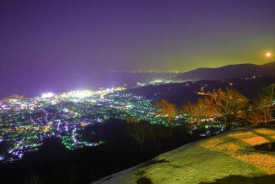小樽 天狗山の夜景