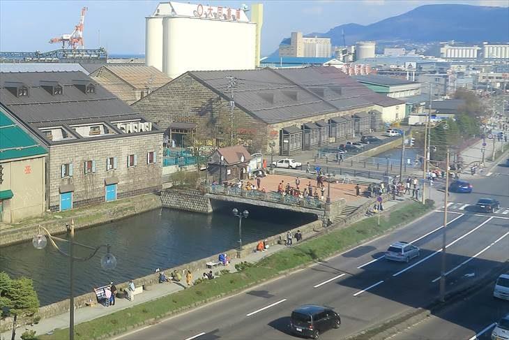 小樽運河 浅草橋