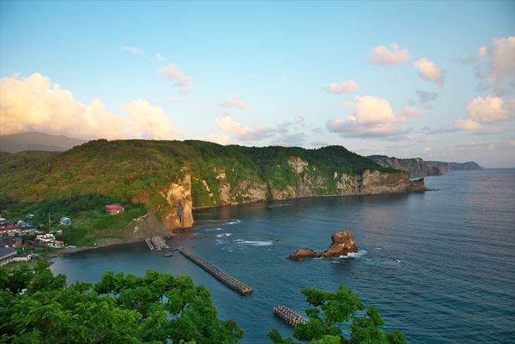 積丹 黄金岬からの風景