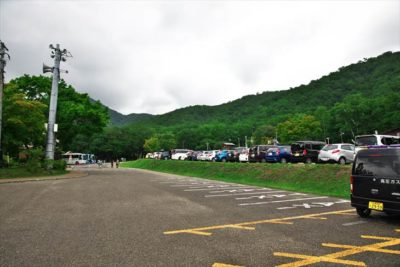 支笏湖 駐車場