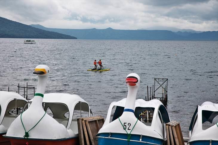 支笏湖 ペダルボート