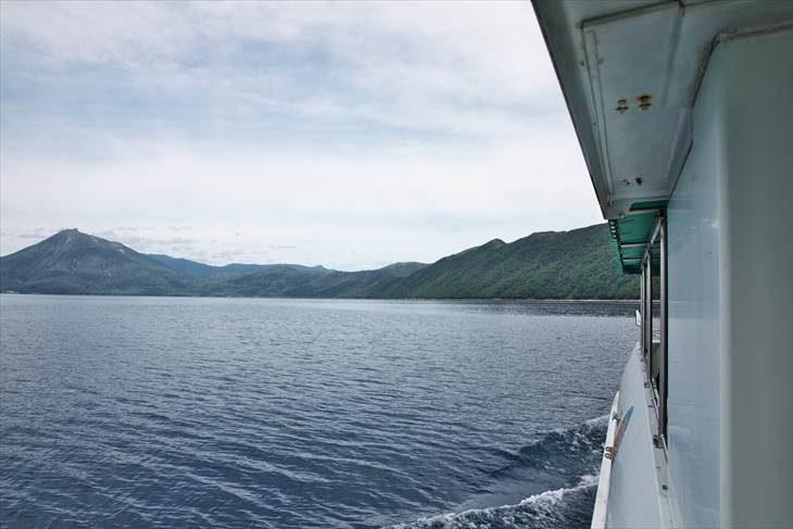支笏湖 水中遊覧船