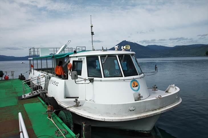 支笏湖 水中観光船