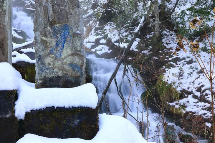 白金不動の滝