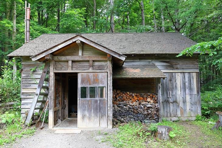 北の国から 最初の家