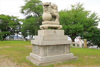 小樽 水天宮 狛犬様