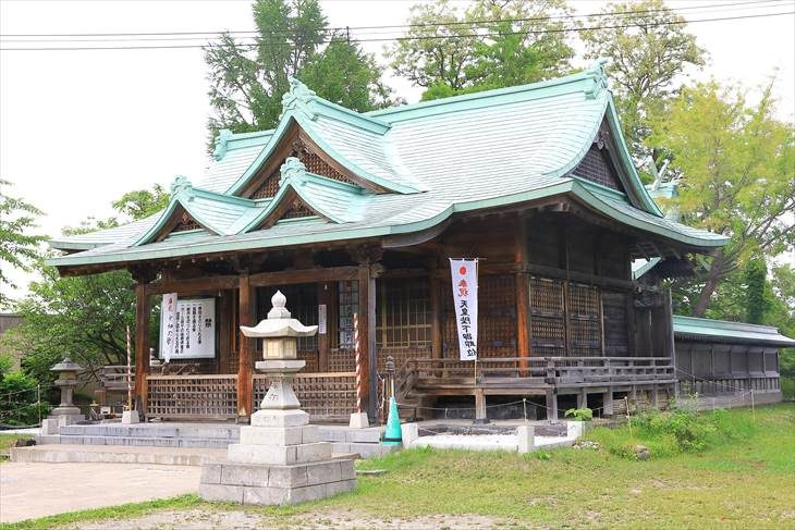 小樽 水天宮 拝殿