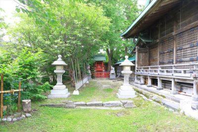小樽 水天宮 稲荷神社