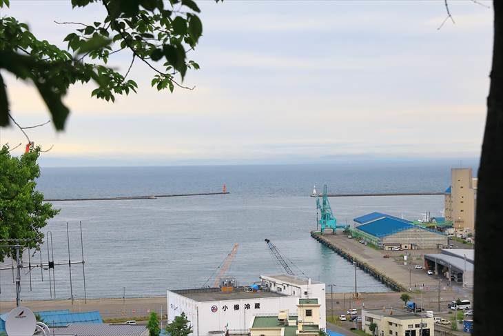 小樽 水天宮からの景色